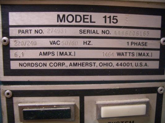 Nordson 115 B