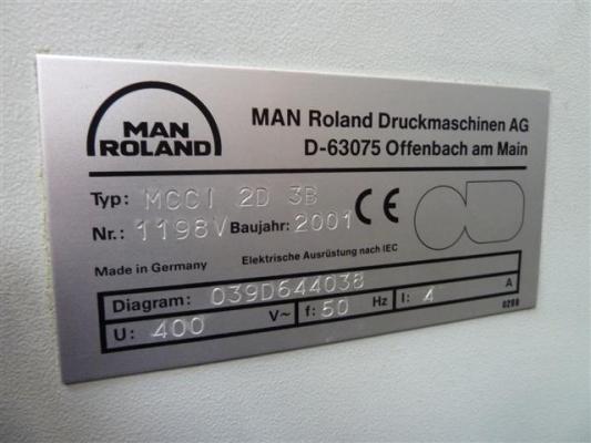 Man-Roland Multi CCI 2-D