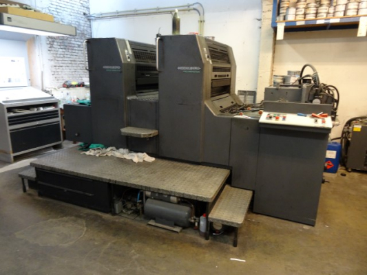 Heidelberg SM 74-2 P 4836  2 Colour offset press 623245