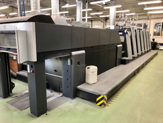Heidelberg XL 75-6 LX-C with UV