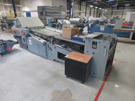 Stahl KD 78/4 KZ 4911 Bindery and Finishing Foldingmachines Stahl 700334