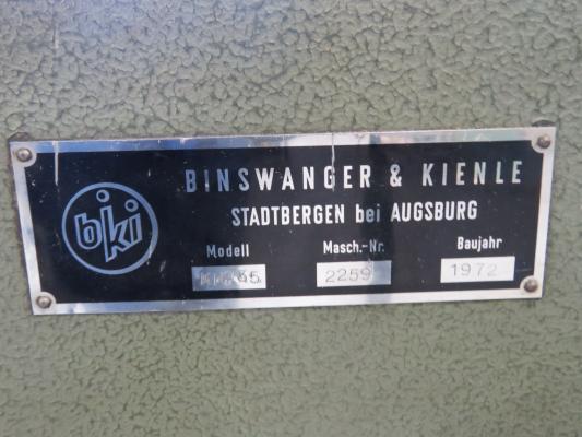 bingswanger KPS35