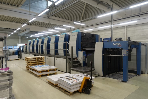 KBA RA 130A-8 SW4 5025  8 Colour offset press 368005