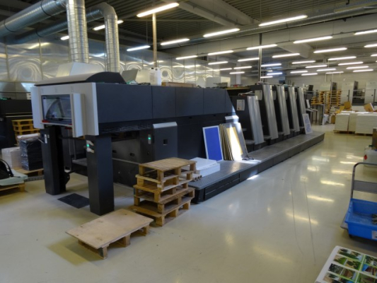 Heidelberg XL 75-4 L-C 5026  4 Colour offset press LS001302
