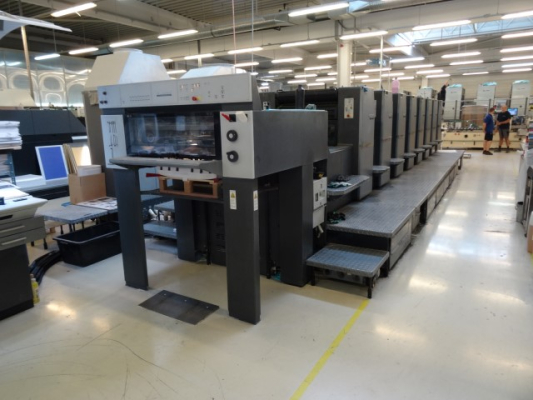 Heidelberg SM 74-8 P 5027 Sheet Fed 8 Colour offset press 627161