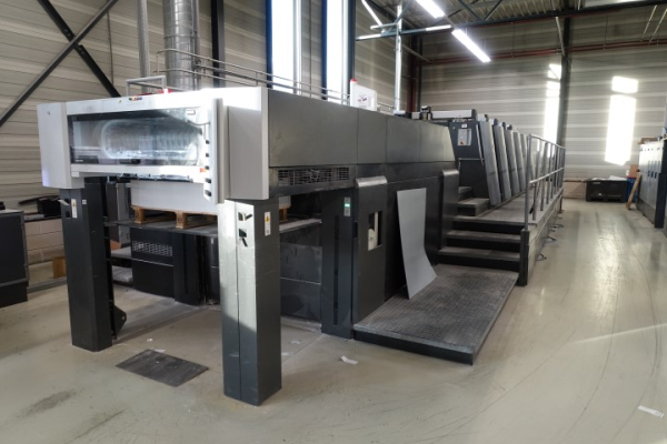 Heidelberg XL 105-5 L 5071 Sheet Fed 5 Colour offset press FS00516