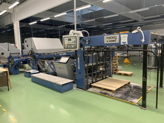 MBO Navigator T1420 5086 Bindery and Finishing Foldingmachines MBO 0824687