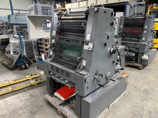 Heidelberg GTO 52-1 5098  1 Colour offset press 685895