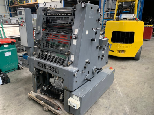 Heidelberg GTO 52-1 5099  1 Colour offset press 709165