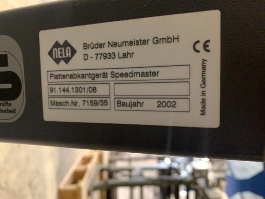 Heidelberg Plate bender SM 102-SM 52