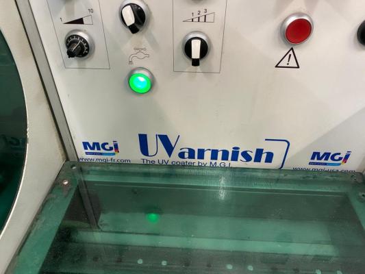 MGI UV coater