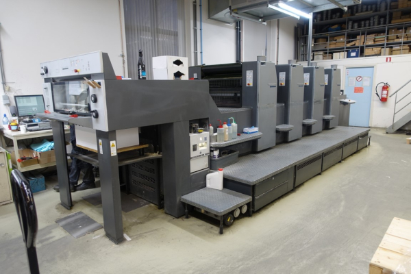 Heidelberg SM 74-4 P-3-H 5137 Sheet Fed 4 Colour offset press 627057