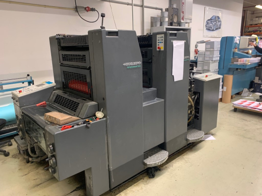 Heidelberg SM 52-2 5141  2 Colour offset press 201382