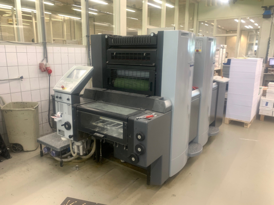 Heidelberg SM 52-2 5142  2 Colour offset press GS000172