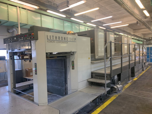 Komori LS 440 P 5154  4 Colour offset press 122