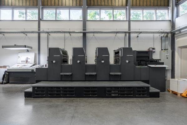 Heidelberg PM 74-4 5162  4 Colour offset press PM741708