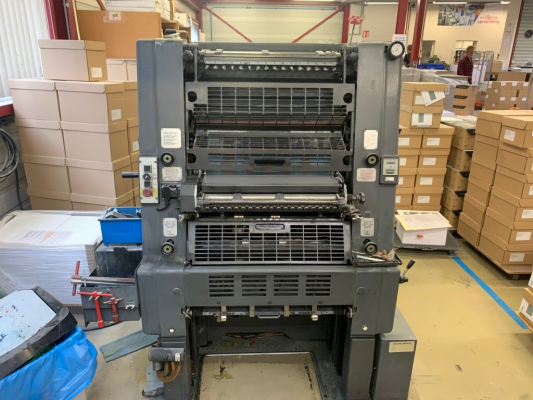 Heidelberg GTO 52-1 5168  1 Colour offset press 694048