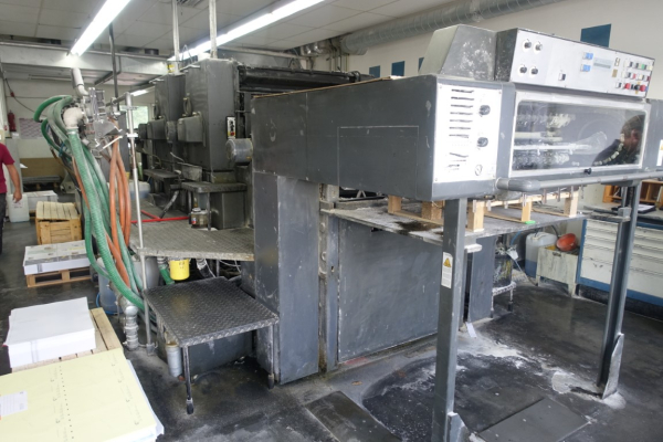 Heidelberg SM 102 ZP 5170 Sheet Fed 2 Colour offset press 536390