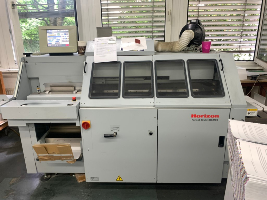 Horizon BQ 270C 5174 Bindery and Finishing Perfect binders 320002
