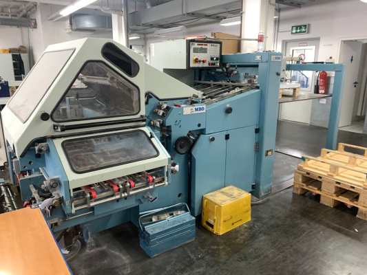 MBO K 76S-KTL/4FP 5176 Bindery and Finishing Foldingmachines MBO 000519586