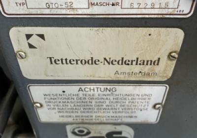 Heidelberg GTO 52-1 + version
