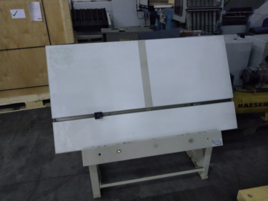 Komori Plate punch for Komori 5245 Sheet Fed Punch and Benders 2004/9
