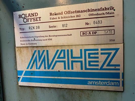 Man-Roland RZK 3B