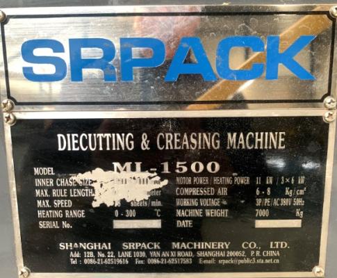 SRPack ML 1500