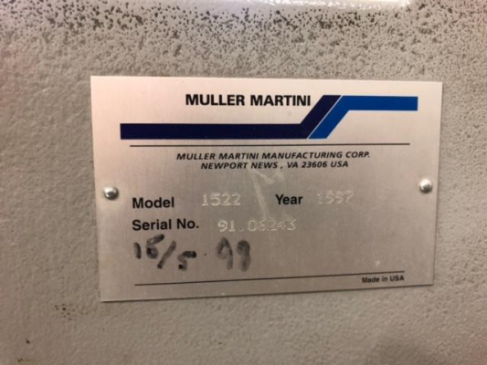 Muller Martini Presto