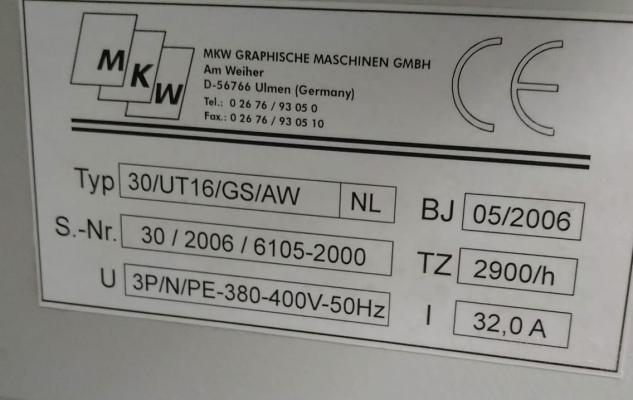 MKW Rapid UT B3