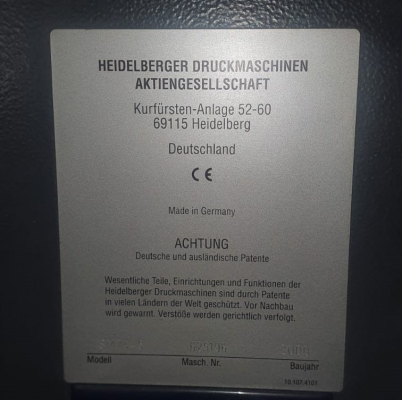 Heidelberg SM 74-5 H