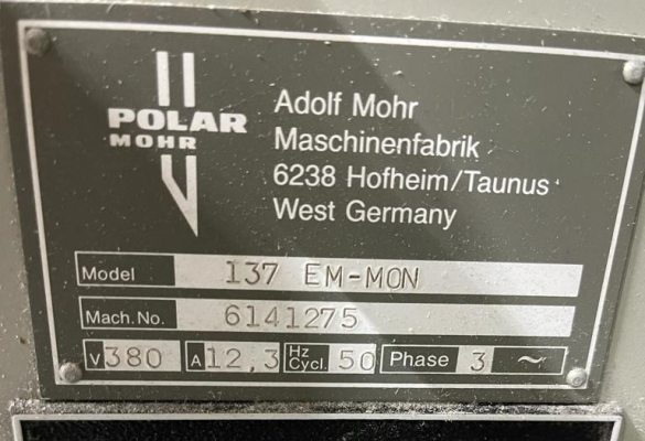 Polar 137 EM Monitor